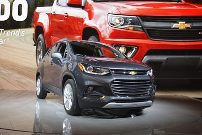 2017 Chevy Trax Prices Announced Chevrolet Trax New Cars For
