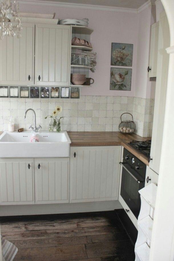 Mooie sfeer in deze ikea keuken - Keuken | Pinterest - Ikea keuken ...
