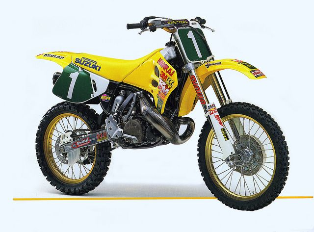 1994 japanese factory suzuki rh250- ws | motocross, dirt biking