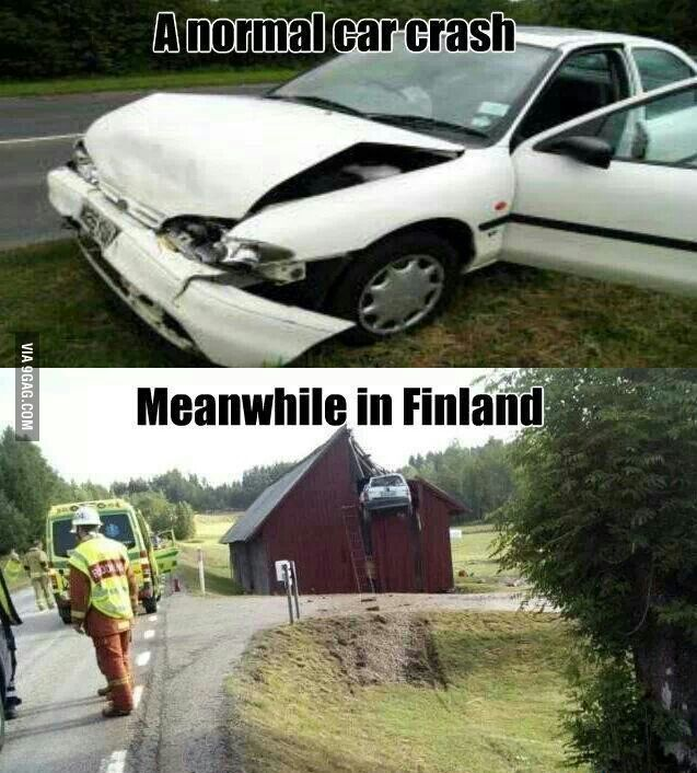 Meanwhile in Finland | all things Finnish | Meanwhile in finland, Funny jokes, Funny pictures
