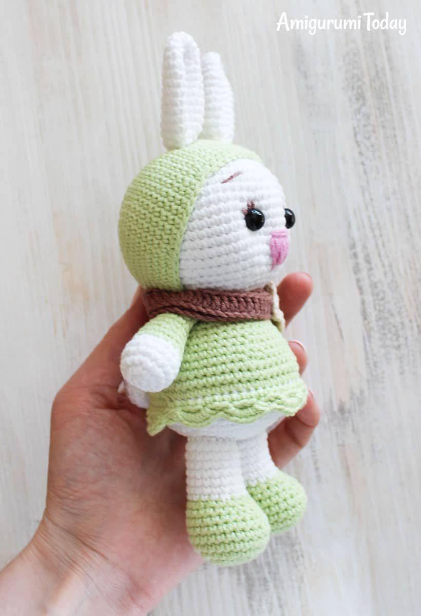 Sunny Bunny crochet pattern | Amirugumis | Pinterest | Ganchillo ...