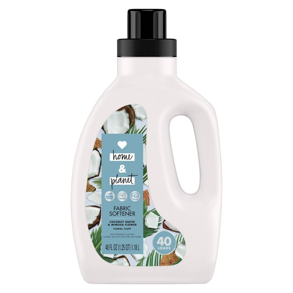 Love Home Planet Coconut Water Mimosa Flower Fabric Softener