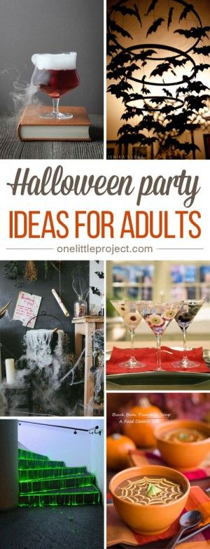 34 Inspiring Halloween Party Ideas for Adults Halloween parties - halloween party ideas for adults decorations