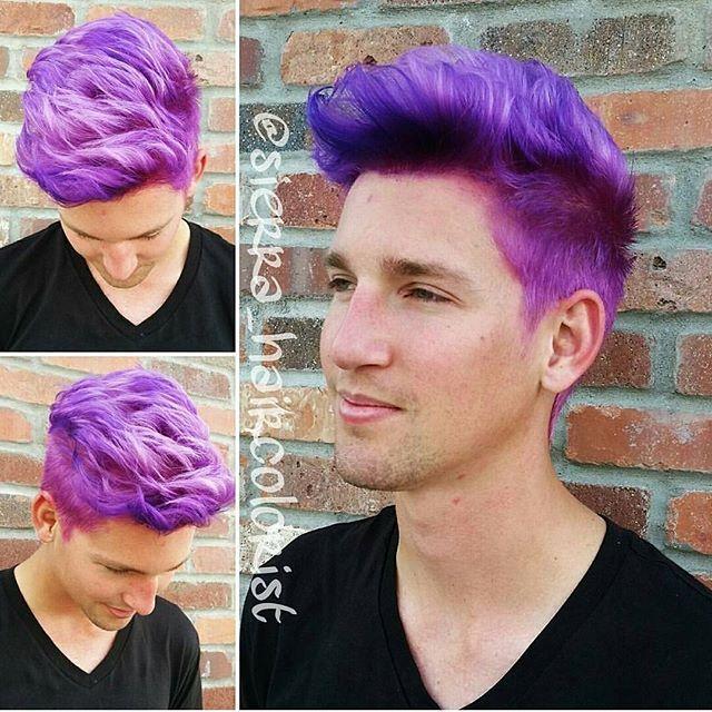 men wear purple