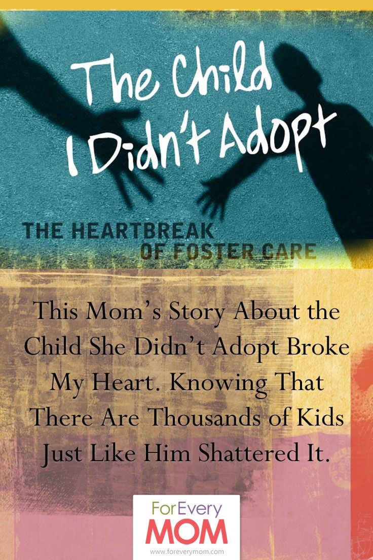 The Child I Didn't Adopt The Heartbreak of Foster Care