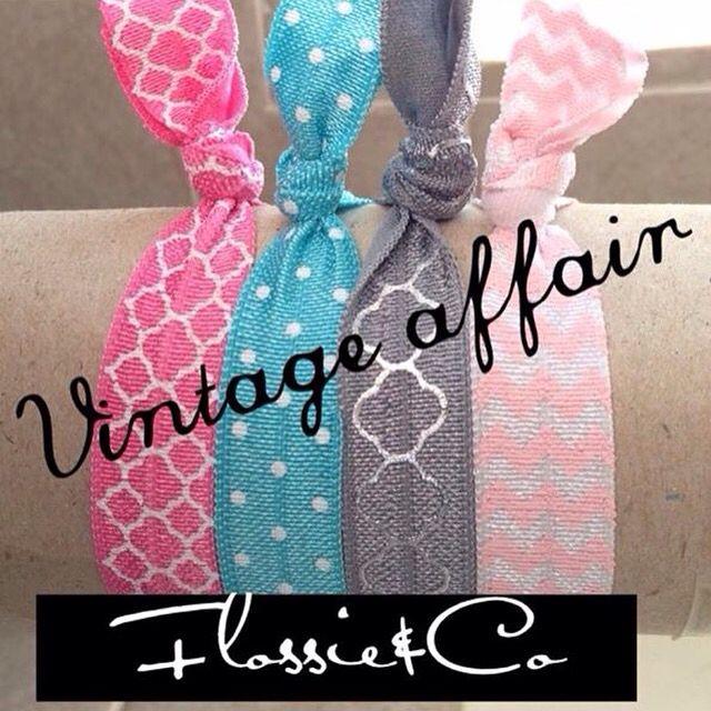 Cute hair ties! Home made afec3b059fa