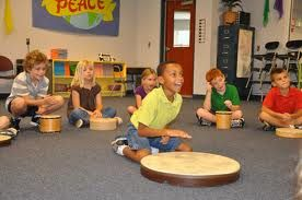 Exposed to musical instruments, students will create music!