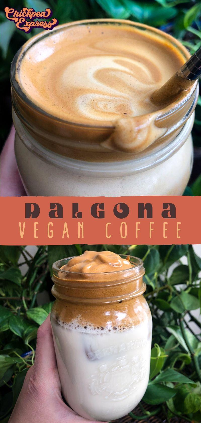 Dalgona Coffee Recipe in 2020 Coffee recipes, Vegan