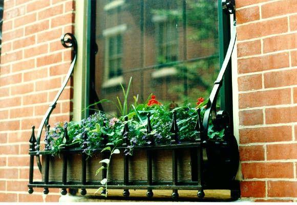 Very Pretty Appleton Wrought Iron Window Box I Like The
