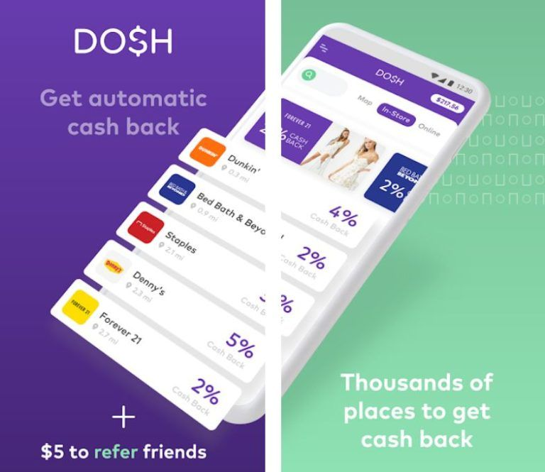 Review DOSH App Cash Back, adding this app to your phone