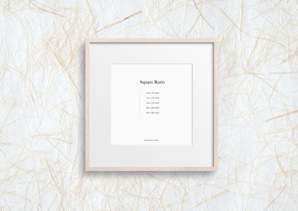 Styled Birch Wood Square Photo Frame Wall Mockup 329 In 2020 Frames On Wall Square Photos Frame