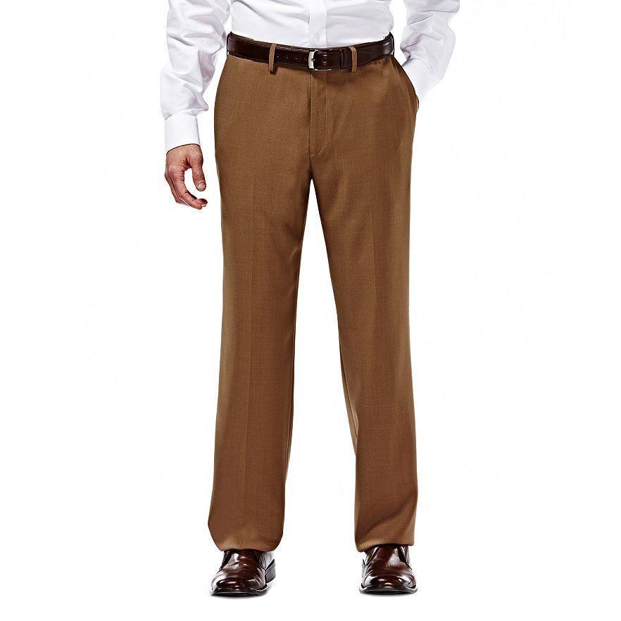 waist mens khaki industrial flat permanent comfort s pants men kh dickies front dickiesf press comforter