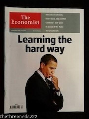 THE ECONOMIST - OBAMA - MARCH 28 2007 | eBay