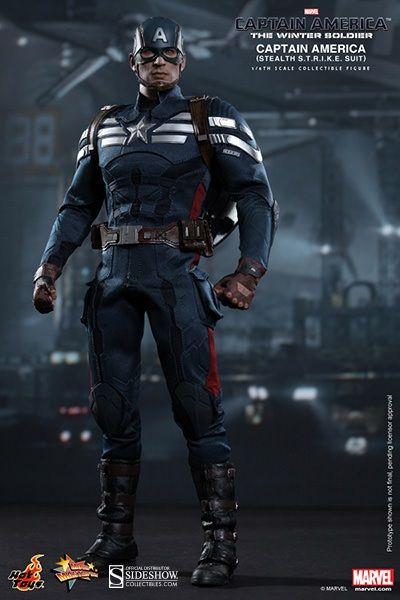 Captain America: Stealth S.T.R.I.K.E. Suit Sixth Scale Figure