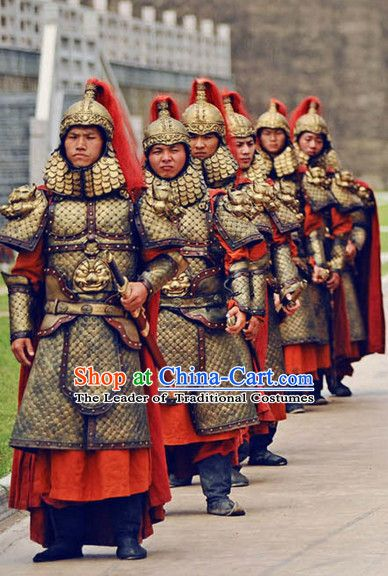 012ee8113 Tang Dynasty Chinese Military General Warrior Solider Body Armor Costumes  Costume Complete Set for Men
