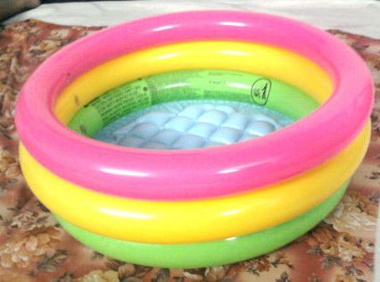 Baby Bath Tub Baby Kids Swimming Pool Inflatable 24″ x 8.5″ At Rs ...
