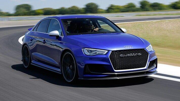 Audi RS3 Saloon.