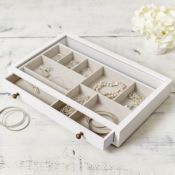 Teen Jewelry Box Savannah Jewelry Box  Pbteen  Jewelry Storage Series Jb