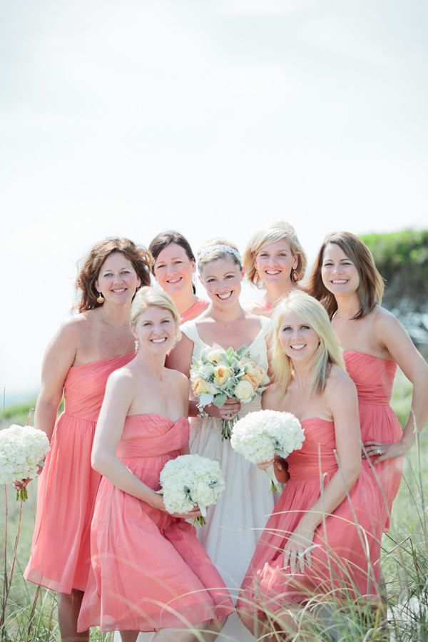 Special Wednesday} Top 10 Coral Bridesmaid Dresses Ideas in 2013 ...