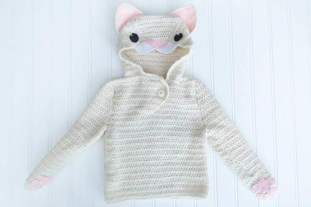 Le Chat Blanc Pullover By Stephanie Mason Free Crochet Pattern