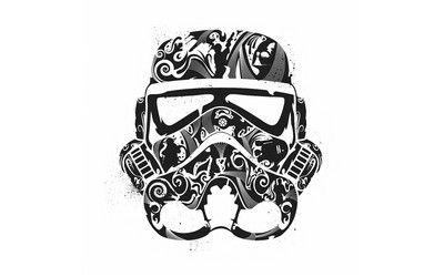 Stormtrooper Helmet Wallpaper Stormtrooper Art Star Wars Pillow Stormtrooper