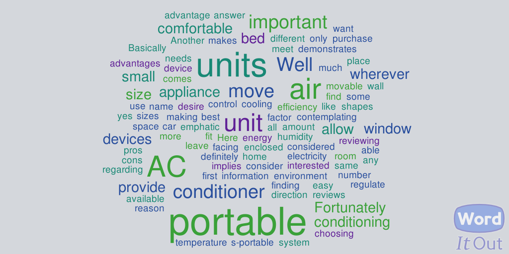 What Is the Best Portable Air Conditioner for Tent Split