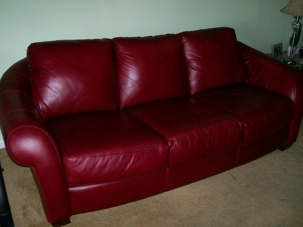Awesome Burgundy Leather Couch , Fresh Burgundy Leather Couch 94 About  Remodel Sofa Table Ideas With