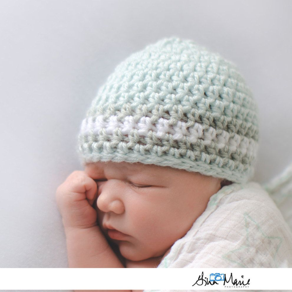 1fa3fca65e441 Hospital Hat, Coming Home Outfit, Gender Neutral, Baby Clothes ...