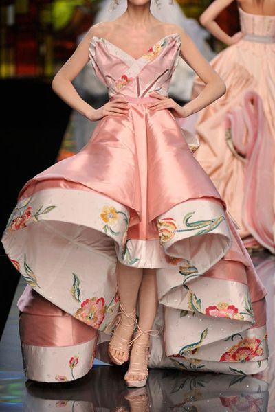 §HELLO LOVE! Dior pink dress.