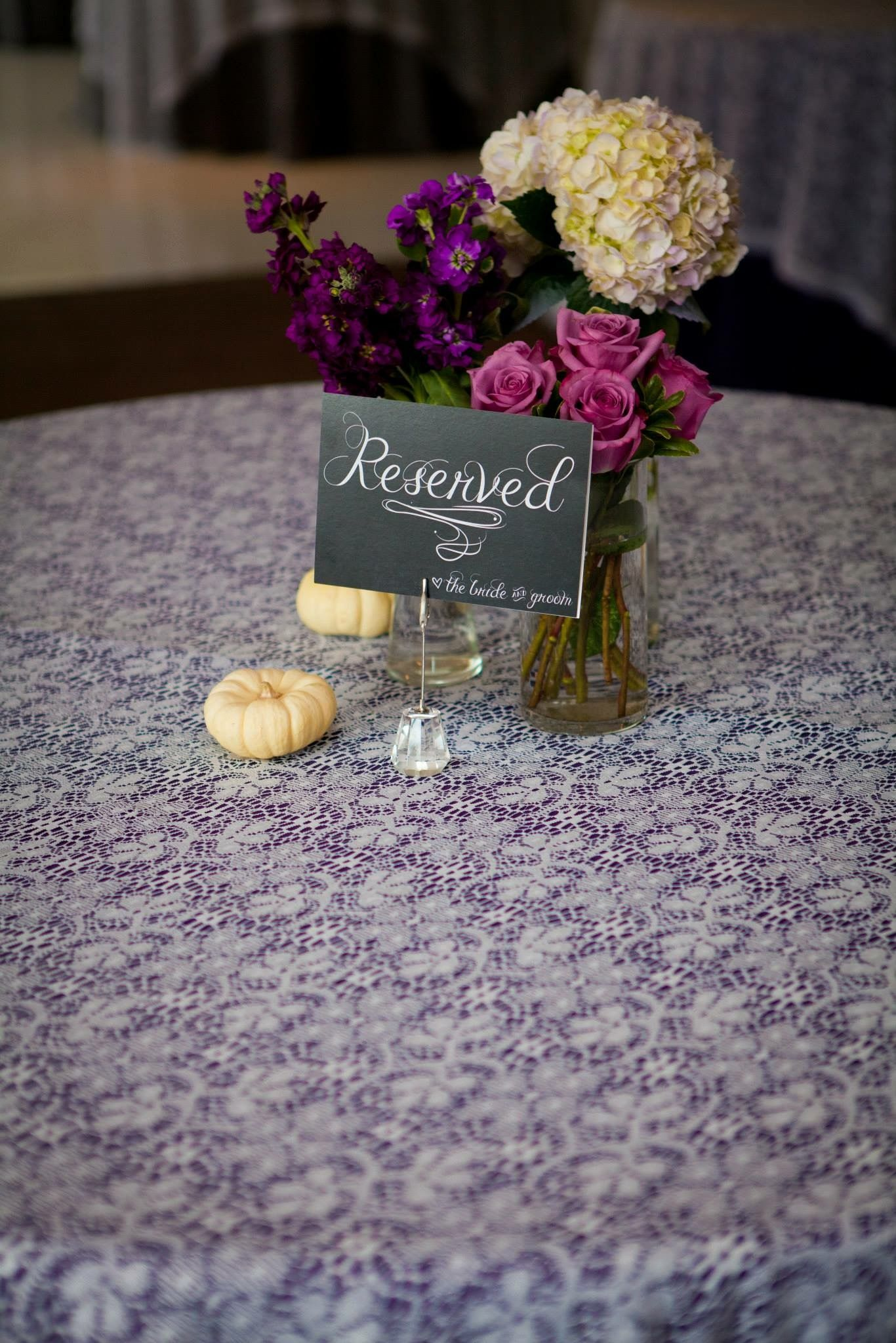 Purple Wedding Fall Lydialeevents Alabama Planner