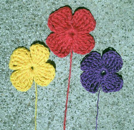 Aprende paso a paso como hacer flores de ganchillo Cinco tipos de