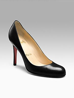 huge discount 3a363 53ce5 Christian Louboutin Simple 100 Leather Pumps...some simple ...