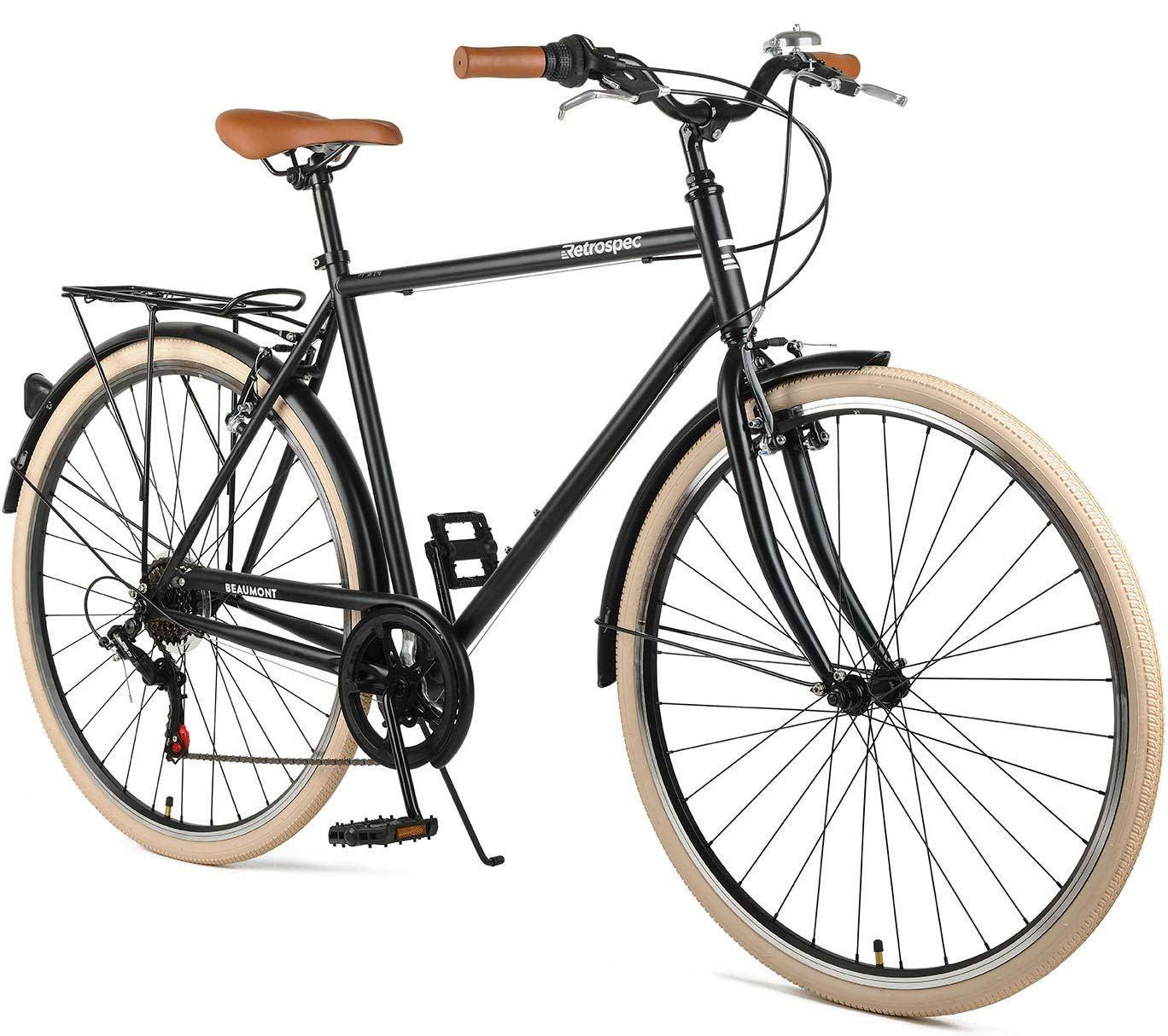 Retrospec Beaumont 7 Seven Speed Men S Urban City Bike With
