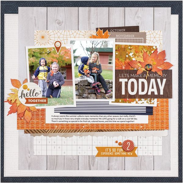 Current 2020 There Halloween Card Summer 2020   Scrapbook & Cards Today magazine   Fall scrapbook