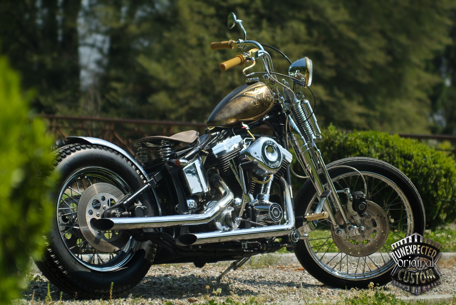 "Harley-Davidson Softail 1340 ""MUSTANG CHOPPER"" www.unexpected-custom.com"