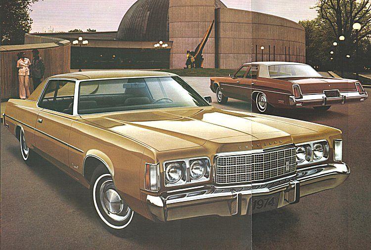 1974 Chrysler Newport 2 Door Hardtop And 4 Door Sedan