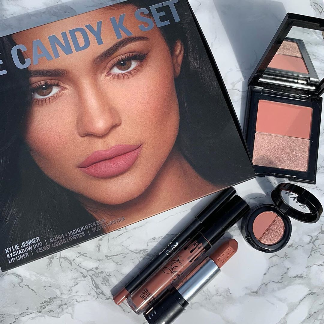Candy K Try It Kit Kylie Cosmetics Makeup Tools Products Cosmetic Sets