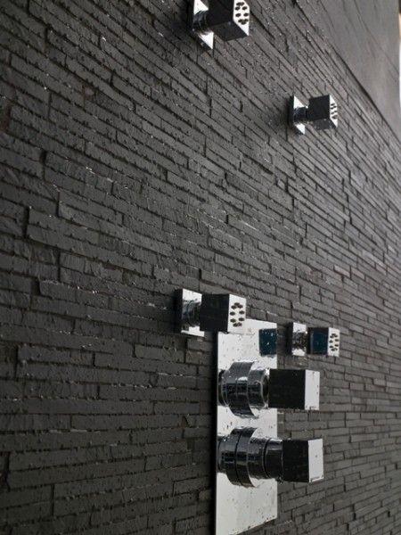 ardoise | bathroom | pinterest | ardoise, materiaux et texture ... - Carrelage Ardoise Salle De Bain