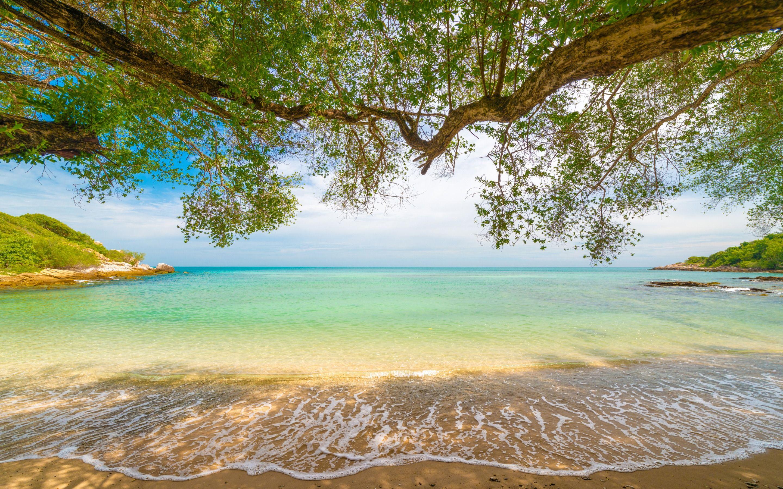 Beach Seascape Blue Lagoon Azure Coast Summer Travel Sea