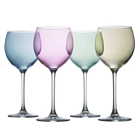 LSA International Polka Pastel Wine