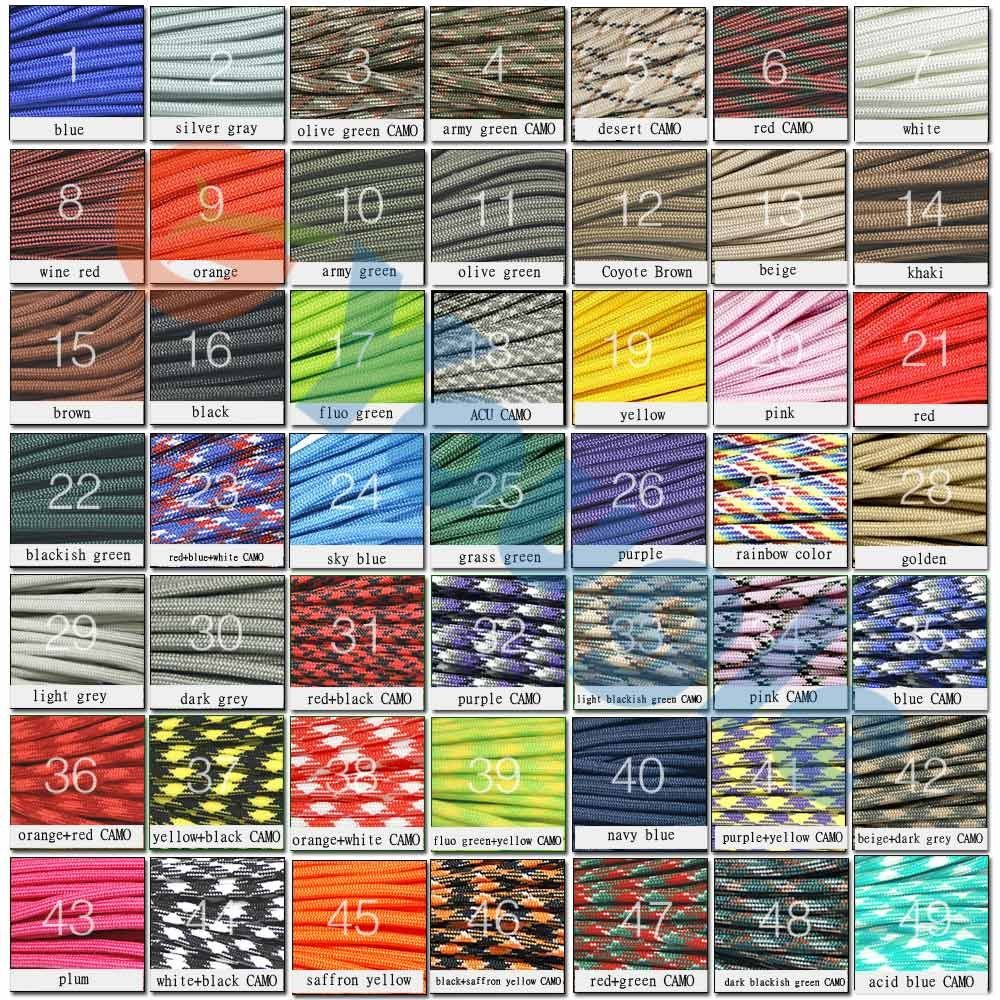 New Paracord 550 Paracord Parachute Cord Lanyard Rope Mil Spec Type Iii 7 Strand 100 Ft Free Shipping On Aliexpress Com Parachute Cord Paracord 550 Paracord