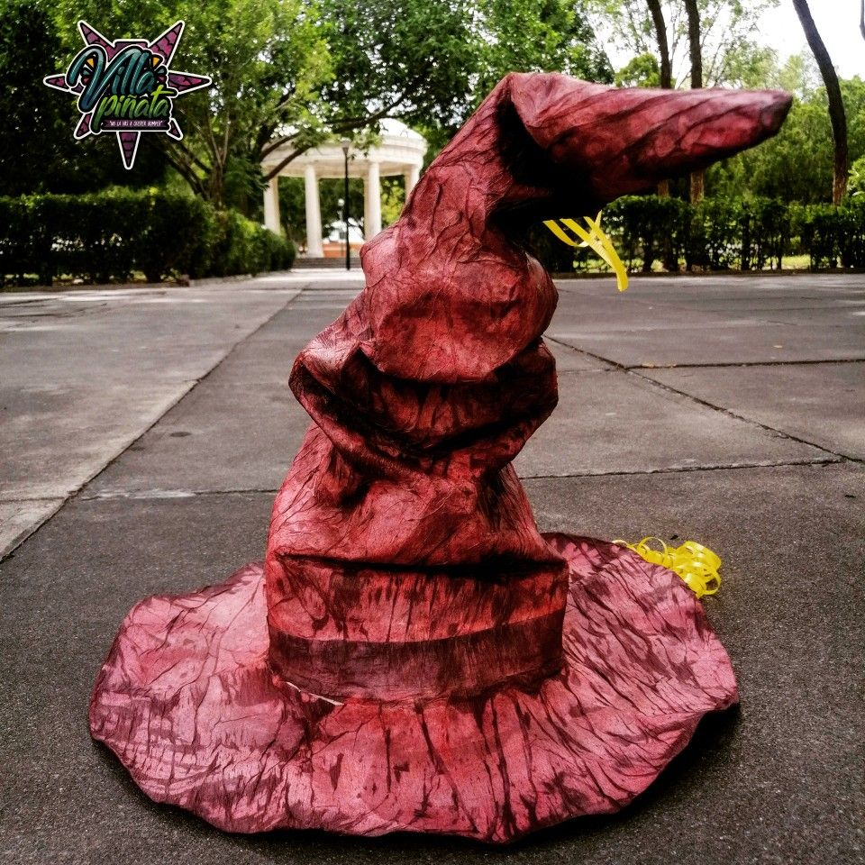 Pinata Sombrero Seleccionador Decoraciones De Fiesta Harry Potter Sombrero Seleccionador De Harry Potter Fiesta Harry Potter