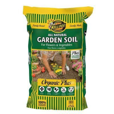 Kellogg Garden Organics 1 Cu Ft All Natural Garden Soil For