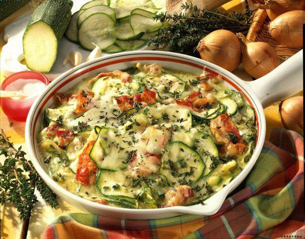 zucchini frittata pfanne