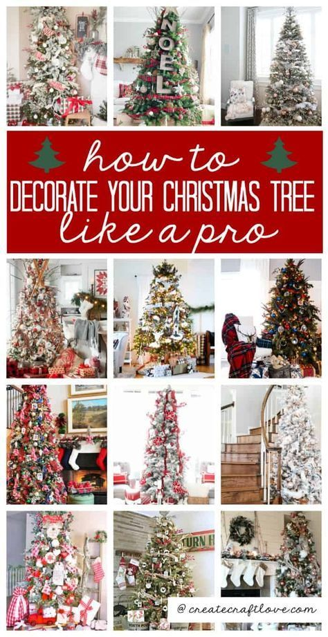 How to Decorate Your Christmas Tree Like a Pro | Christmas tree top decorations, Country christmas t -   19 farmhouse christmas tree decorations diy ideas