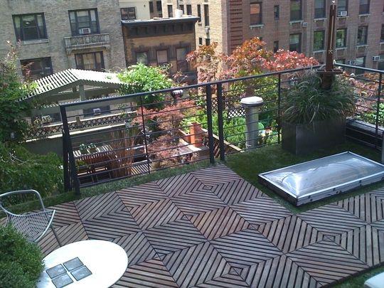 apartment patio privacy ideas wonderful manhattan   My Great Outdoors: Matt's Manhattan Roof Deck   Roof deck ...