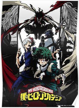 My Hero Academia Season 2 Poster Hero My Hero Academia Manga
