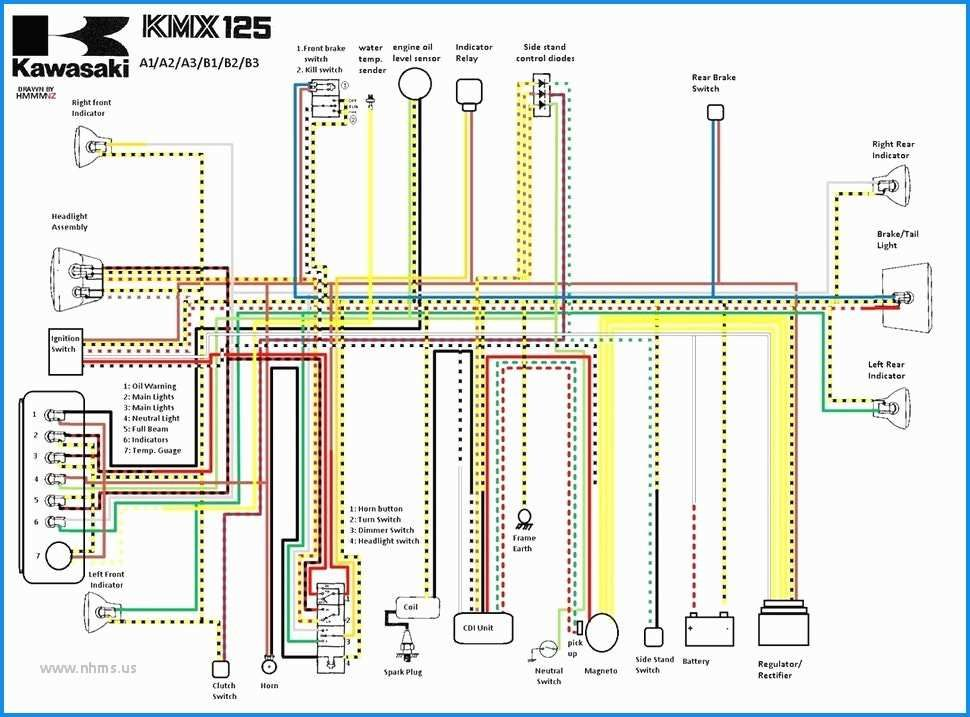 picture of wiring diagram of motorcycle honda xrm 125 wiring