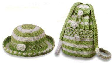 Handbag and Hat for Girls 1