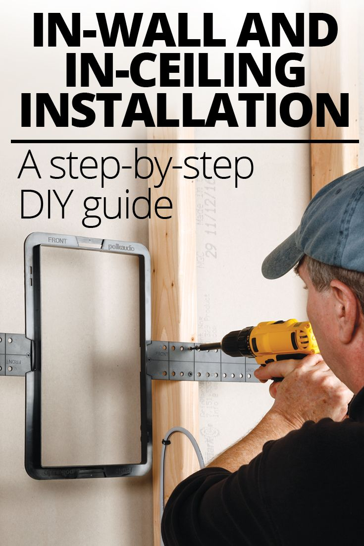 In Wall And Ceiling Speaker Placement Installation Crutchfield Home Theater Wiring Installing Speakers A Step By Do It Yourself Guide Your Own Or On Can Give You
